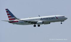 American Airlines B737 ~ N877NN (© Freddie) Tags: aruba oranjestad renaissanceisland aa americanairlines boeing b737 b738 n877nn aua tnca tncaaua fjroll ©freddie