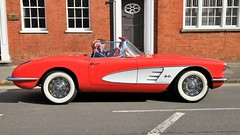 1959 Chevrolet Corvette 259 UYL (BIKEPILOT, Thx for + 5,000,000 views) Tags: farnhamfestivaloftransport farnham surrey uk 1959 chevrolet corvette 259uyl red white classic vintage americana car automobile vehicle icon transport sportscar england cruisin beautiful carshow