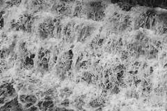 Weir (Tony Tooth) Tags: nikon d7100 sigma 70mm water cascade weir river riverchurnet bw blackandwhite monochrome oakamoor staffs staffordshire
