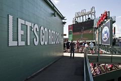 Let's Go! (brucetopher) Tags: redsox baseball mlb majorleague fenway park fenwaypark boston toronto historic stadium grandstand seating seats chair number numbered emptyseats blue red redwhiteandblue redwhiteblue american field ballpark player play passtime pasttime game contest sox playball ball ballplayer baseballplayer ballfield baseballdiamond baseballfield diamond bigdiamond americasfavoritepastime sports fens fen greenmonster greenmonstah monstahdirtywater sweetcaroline green summer antique old nigel