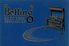 Belling & Co., Enfield. 1930 (growlerthecat) Tags: electricfire belling tradecatalogue