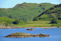 Scarbh (Zak355) Tags: scotland scottish argyll scarbh fishingboat crinan tour boat vessel crinanbasin crinancanal