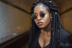 CHRIS (Impact Photographic) Tags: model modelagency fashion beauty pretty girl woman africangirl sunglasses portrait photo photography photographe thierry guez
