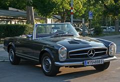 Mercedes-Benz 280 SL (W 113) (Wolfgang Bazer) Tags: mercedes mercedesbenz 280 sl w 113 cabriolet cabrio convertible roadster sportwagen sports car auto wien vienna österreich austria