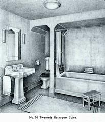 Bathroom by Twyfords. 1937 (growlerthecat) Tags: twyfords bathroom catalogue tradecatalogue sanitaryware