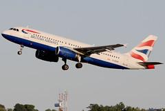 G-EUUH (GH@BHD) Tags: geuuh airbus a320 a320200 a320232 ba baw britishairways unionflag aircraft aviation airliner bhd egac belfastcityairport