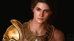 Athena (ilikedetectives) Tags: kassandra assassinscreed assassinscreedodyssey acodyssey acphotomode ubisoft ubisoftquebec portrait screenshot gaming gamecaptures game ingamephotography videogames virtualphotography
