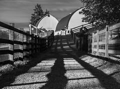 Bellevue BW Exercise 6-26-68-HDR.jpg (Michael Burke Images) Tags: bw bellevue barn kelseycreekpark