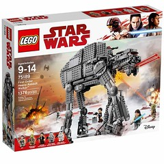 First Order Heavy Assault Walker Under $100 (fbtb) Tags: 75189 first order heavy assault walker