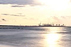 Summer evening (long exposure) (mmichalec) Tags: summer evening lato wieczór sunset zachódsłońca sun fujifilm baltic morze sea bałtyk poland polska gdańsk pomerania tricity trójmiasto