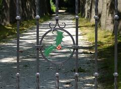 Fence of 'De Hulst' estate (joeke pieters) Tags: 1480011 panasonicdmcfz150 oldenzaal twente overijssel nederland netherlands holland twentsewallen dehulst hek fence hff