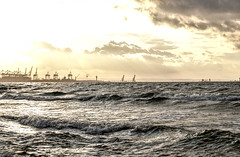 Summer evening (mmichalec) Tags: lato summer fujifilm sea morze baltic bałtyk gdańsk tricity trójmiasto poland polska sky clouds evening wieczór sunset sun