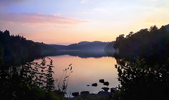 sunset at castlewellan lake (sean and nina) Tags: castlewellan ireland lake arboretum maze park nature county co down northern north eire irish forest grounds water outdoor rural country countryside green hedges trees view stunning beauty natural summer june 2019 tranquil peaceful peace gardens garden tourism reflection
