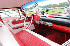 1960 Chrysler Saratoga,2 (doojohn701) Tags: red classic car vintage retro american interior white 1960 chrysler saratoga uk candyapple chrome dice elvis