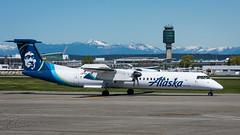 N432QX - Alaska Airlines (Horizon Air) - Bombardier DHC-8-402 Q400 (bcavpics) Tags: canada vancouver plane airplane britishcolumbia aviation horizonair n432qx aircraft yvr airliner turboprop alaskaairlines bombardier q400 dhc8 cyvr bcpics