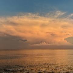 Status (Sivyaleah (Elora)) Tags: sanibel island florida vacation june 2019 ocean sky sea clouds sunset olympus penf pen f seascape twilight dusk
