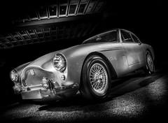 DB2/4 Mark III (Dave GRR) Tags: astonmartin aston martin supercar retro classic vintage old db24 mark iii toronto auto show 2019 monochrome mono black white olympus