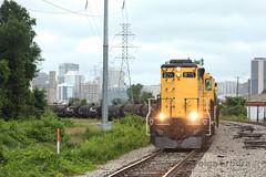Railserve (TolgaEastCoast) Tags: railserve csx bellwood subdivision shortline downtown richmond virginia train trains railroad skyline