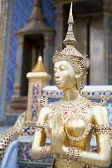 Apsarasi, Wat Phra KeawPhra Nakhon, Bangkok June2019 (nae2409) Tags: 50mm leica thailand art temple architecture culture
