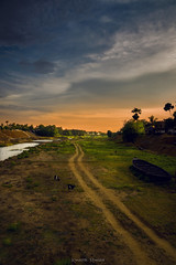Beauty of Rural Bengal (koushikmondal401) Tags: landscape beauty rural river dryriver boat nature murshidabad bengal wallpaper afternoon dramatic road ruralscene