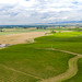 Beautiful, seemingly endless vineyards and farms in Walla Walla