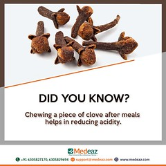 Is Clove Good For Acidity (neetagurnale17417) Tags: chewing bite clove meals acidity reduce piece reducing healthtips gas homeremedies health medeaz