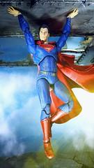 SUPERMAN the man of Steel (custombase) Tags: dc justiceleague movie mafex figures clone superman manofsteel clark kent toyphotography