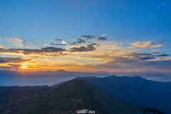 Sunset from Mount Tahtali (zaxarou77) Tags: from sunset mount tahtali blue sky orange sun mountain color nature rock clouds turkey landscape perfect olympus mirco zuiko omd markii em10 1442 mzuiko