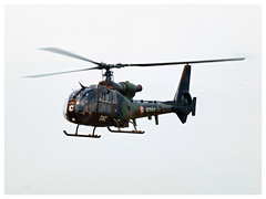 Aerospatiale SA-342 Gazelle (Aerofossile2012) Tags: hélicoptère helicopter helo voiluretournante meeting airshow aviation meaux esbly 2018 aerospatiale sa342 gazelle alat
