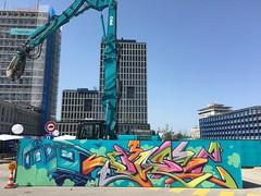 Jazi_M3 (Jazi / Welsch / TZP) Tags: m3realestate graffiti geneva style 3d building flow dancing party constructionsite art subwaycrane streetart urban hotday funky wwwjazich painting genève