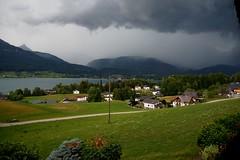 Gewitter über dem Wolfgangsee (johannroehrle) Tags: wolgangsee wolken clouds chmury see berge