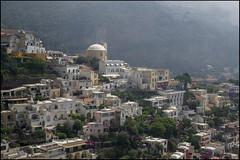 Positano (antoniocamero21) Tags: paisaje color foto sony amanecer construcciones casas niebla montañas positano amalfitana costa italia