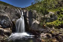 Hayswater Gill, Cumbria (vincocamm) Tags: cumbria lakedistrict hayswater hayswatergill waterfall water green blue rocks trees grass pool splash d5500 nikon sandstone june