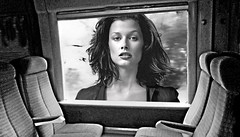 (horlo) Tags: nb bw blackandwhite noiretblanc monochrome film movies cinema portrait fonddécran wallpaper glamour actress vintage woman femme bridgetmoynahan collage innamoramento