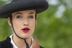 Nîmoise 6 (Xtian du Gard) Tags: xtiandugard nîmes portrait femme woman chapeau sévillane andalouse nîmoise gard france cavalière