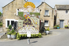 Well Dressing - Derbyshire (Kingsley_Allison) Tags: welldressing wellflowering derbyshire peakdistrict flowers d7200 nikond7200 youlgrave tideswell hope