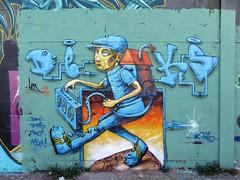 Ler / Bruxelles - 27 jun 2019 (Ferdinand 'Ferre' Feys) Tags: bxl brussels bruxelles brussel belgium belgique belgië streetart artdelarue graffitiart graffiti graff urbanart urbanarte arteurbano ferdinandfeys