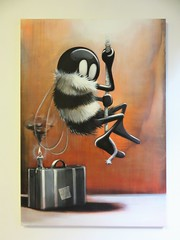 Mr Bee / Bruxelles - 27 jun 2019 (Ferdinand 'Ferre' Feys) Tags: bxl brussels bruxelles brussel belgium belgique belgië streetart artdelarue graffitiart graffiti graff urbanart urbanarte arteurbano ferdinandfeys