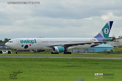 Evelop EC-MII Airbus A330 London Stansted Airport 31 May 2019 (bananamanuk79) Tags: planewatch pictures aviation airplane airport london flying flight runway air travel transport pilot avgeek airways takeoff departure flyer vehicle outdoor airliner jet jetliner flyers travelling jumbo logo livery painted airplanes aicraft photos airline airliners airlines stansted worldwide spotter