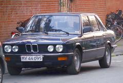 1984 BMW 518 MY44095 still on the roads of Denmark (sms88aec) Tags: 1984 bmw 518 my44095 still roads denmark