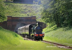 1st June 2019. Service trains and a goods on the Bluebell. (Dangerous44) Tags: o1 55 bluebell railway