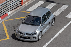 Renault Sport Clio V6 (Alexandre Prevot) Tags: monaco mc voiture european cars automotive automobile exotics exotic supercars supercar worldcars auto car berline sport route transport déplacement parking luxe grandestsupercars ges montecarlo montecarlu 98000
