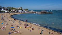 Broadstairs beach on a sunny afternoon (Janet Marshall LRPS) Tags: broadstairs kent isleofthanet eastkent seaside beachscene ukcoastline
