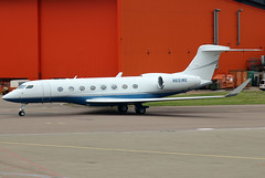 N651WE (GH@BHD) Tags: n651we gulfstream gulfstreamaerospace g6 g650 g650er google ltn eggw londonlutonairport lutonairport luton aircraft aviation airliner executive corporate bizjet