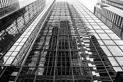 Buildings and Reflections (WilliamND4) Tags: buildings blackandwhite monochrome architecture modern philadelphia tall reflections