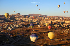 City of Goreme (Rohaan Ali Photographics) Tags: city goreme cappadocia turkey colors air balloons sunrise rohaan ali photography landscape flight valley colorful life lifetime experience