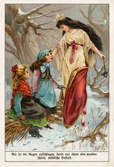 """Aus dem Märchenreich"", Bild 2 (altpapiersammler) Tags: alt old vintage märchen myth fairytale chromolithografie chromo lithografie lithography bunt buch book kindheit childhood fee fairy fay"