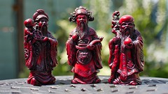 The Sanxing (Three Stars Gods) (Mount Fuji Man) Tags: hereios wah wh nikond7200 d7200 nikon sanxing deity fu lu shou taoism