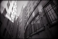 Si je devais tuer quelqu'un (Gauthier V.) Tags: toycamera wideangle impasse urbain filmphotography blackwhite architecture bruxelles régiondebruxellescapitale belgium vivitarultrawideslim