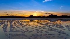 Salty Sunset (Star Wizard) Tags: wendover utah unitedstatesofamerica salt refelections sunset bonneville flats tooele